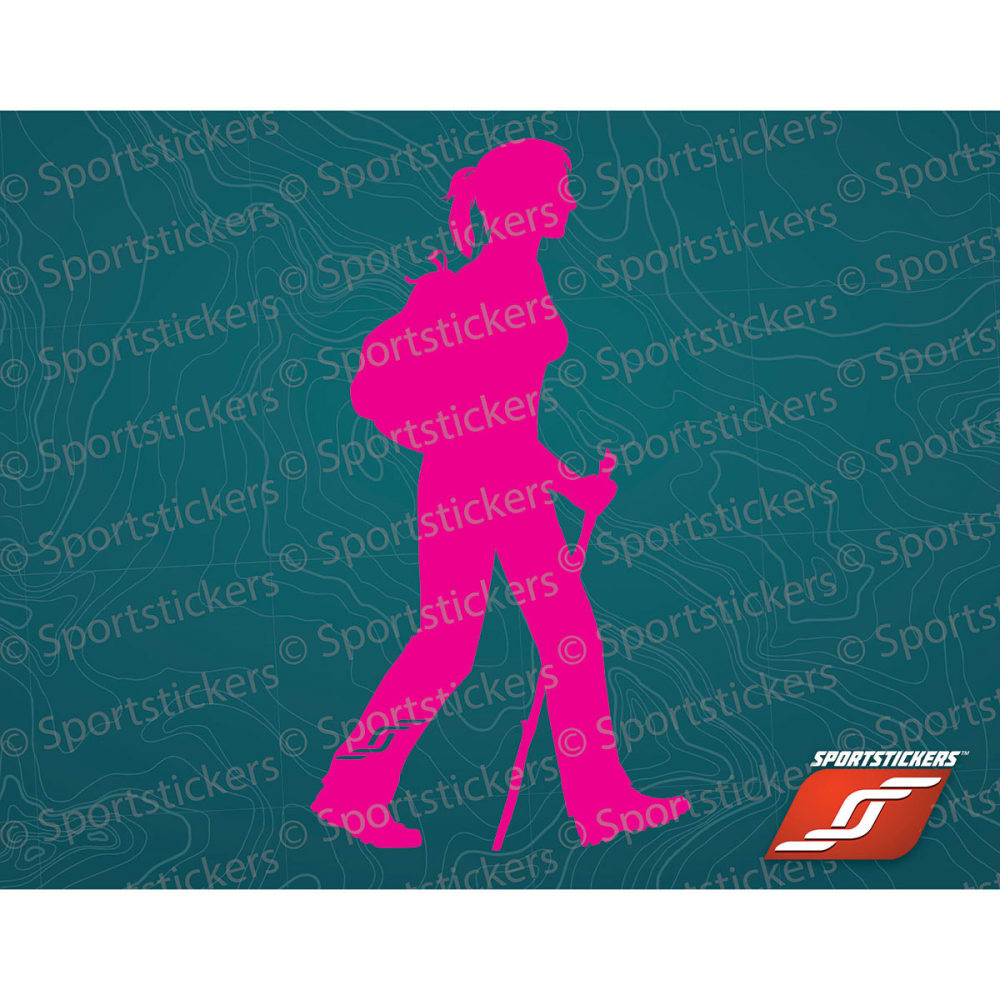 SPORTSTICKERS Women's Day Hiker, Pink - PINK