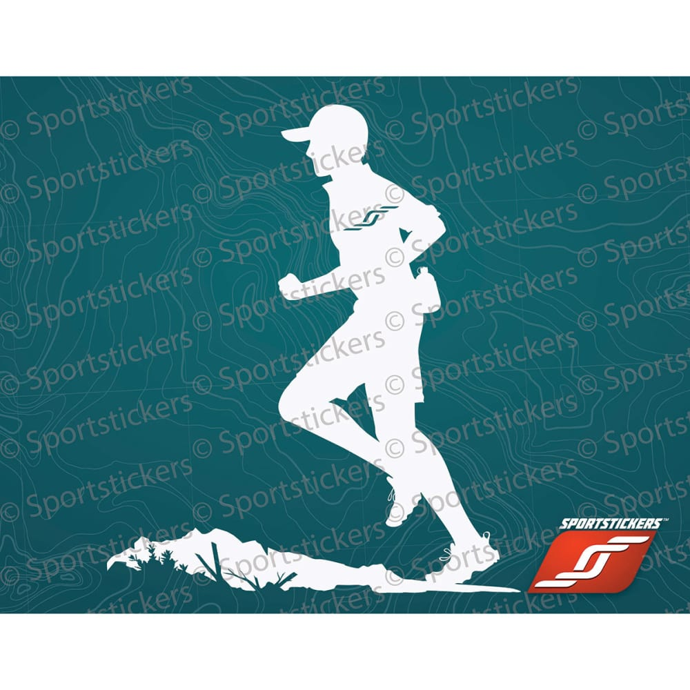 SPORTSTICKERS Trail Runner, White - WHITE