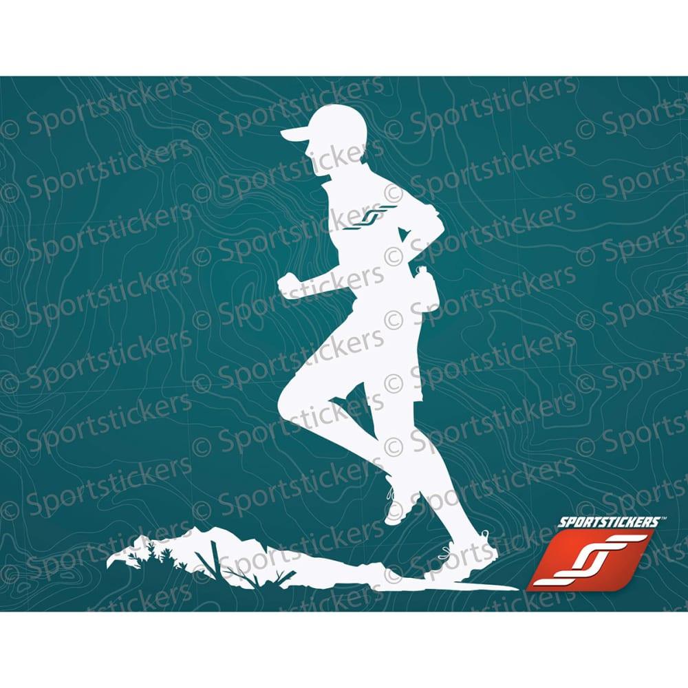 SPORTSTICKERS Trail Runner, White - WHITE