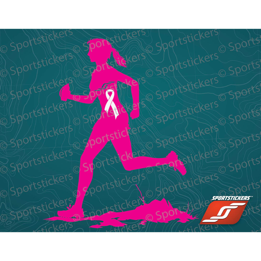 SPORTSTICKERS Women's Trail Runner, Pink - PINK