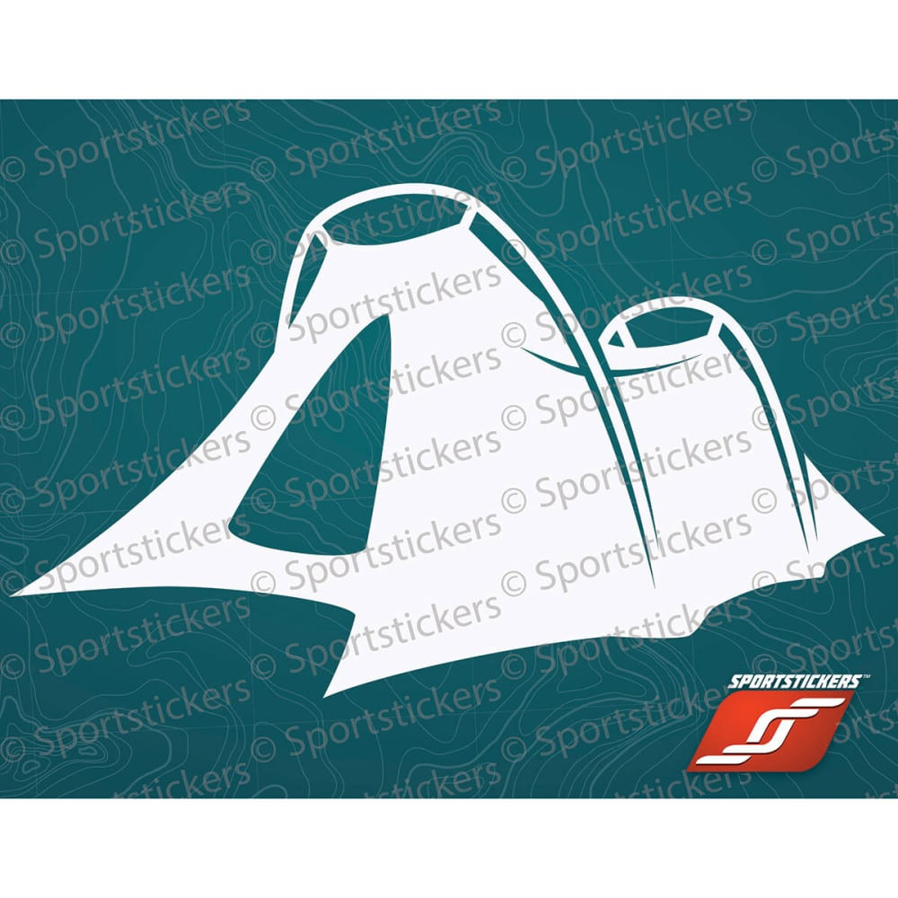 SPORTSTICKERS Tent, White - WHITE