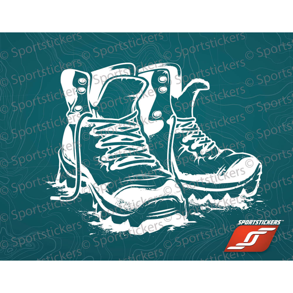 SPORTSTICKERS Hiking Boots, White - WHITE