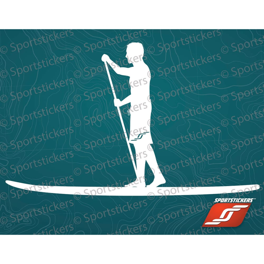 SPORTSTICKERS SUP, White NO SIZE
