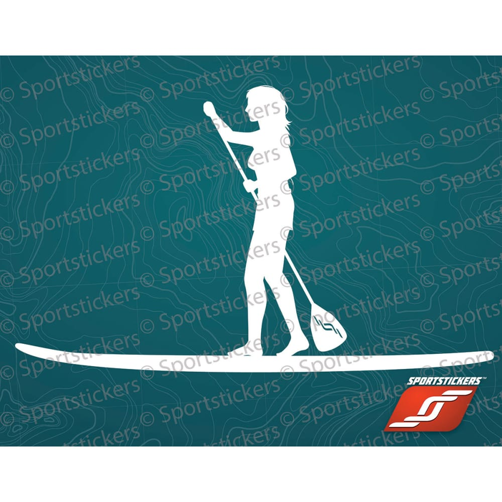 SPORTSTICKERS Women's SUP, White - WHITE