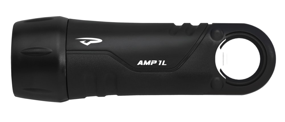 PRINCETON TEC Amp 1L Flashlight/Bottle Opener - BLACK