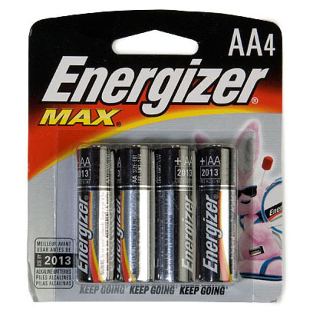 ENERGIZER AA Batteries, 4-Pack - ONE