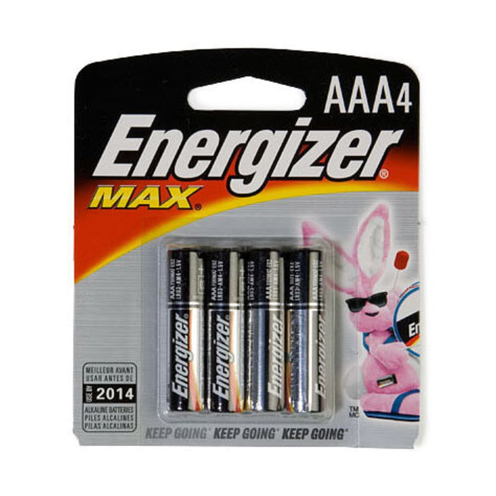 ENERGIZER AAA Batteries, 4-Pack - ONE
