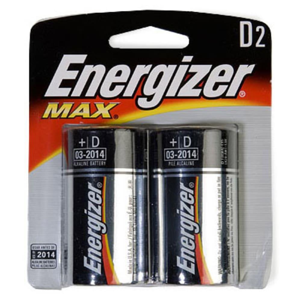 ENERGIZER D Batteries, 2-Pack NA