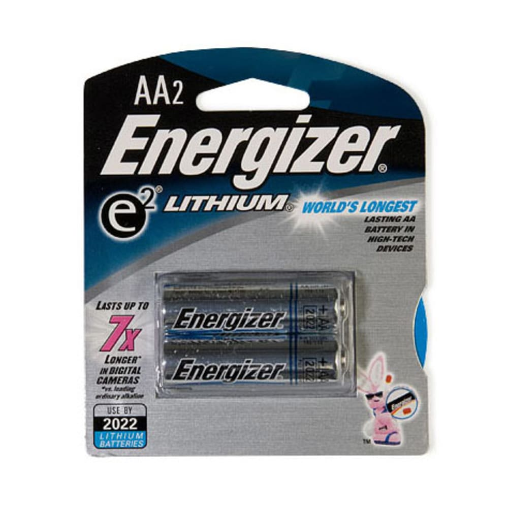 ENERGIZER AA Lithium Batteries, 2-Pack - ONE