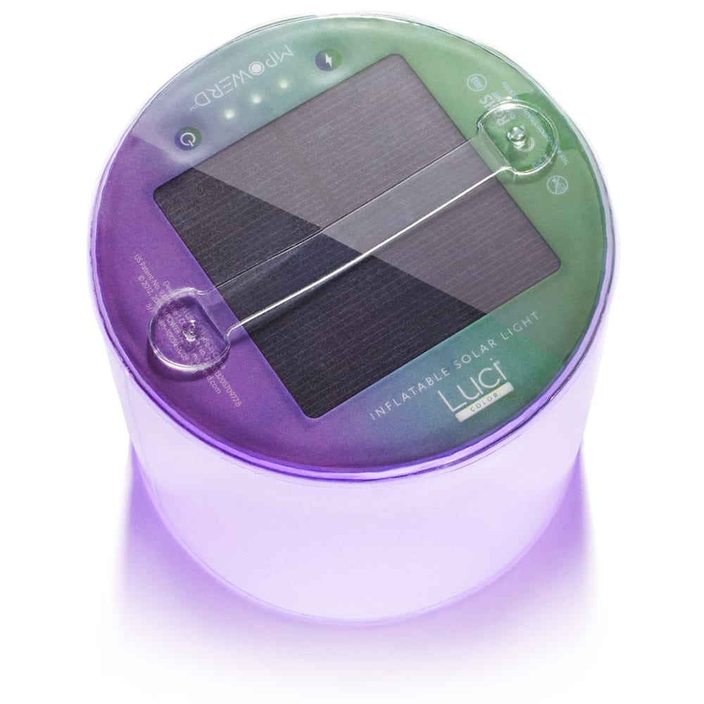 MPOWERD Luci Color Inflatable Solar Lantern - MULTI