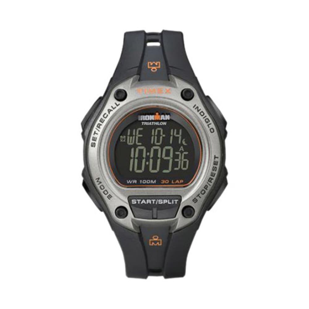 TIMEX Ironman 30-Lap Oversize Watch, Black - BLACK