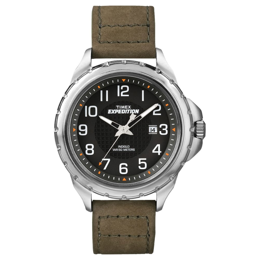 TIMEX Expedition Rugged Metal Field Watch, Black - BLACK