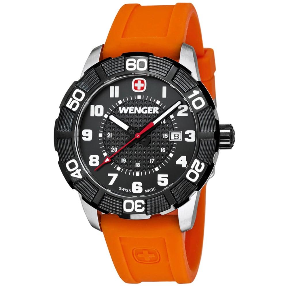 WENGER Roadster Watch - BLACK/ORANGE