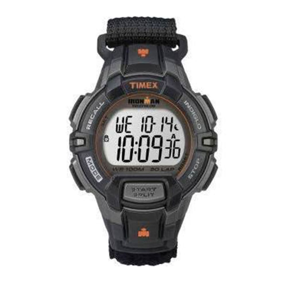 TIMEX Ironman 30-Lap Rugged Watch, Black - BLACK