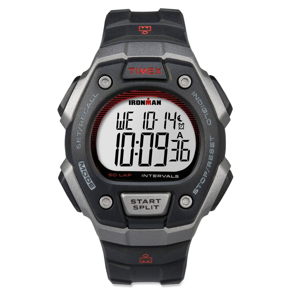 TIMEX Ironman Core 50 Full Size Watch, Black - BLACK