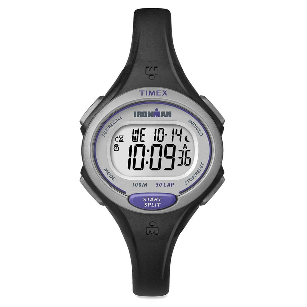 TIMEX Ironman Essential 30-Lap Mid Size Watch, Black - BLACK