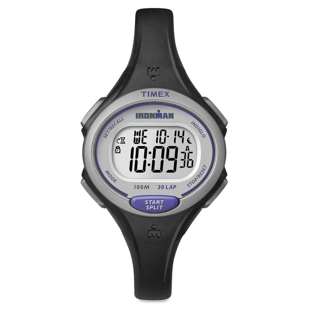 TIMEX Ironman Essential 30-Lap Mid Size Watch, Black - BLACK