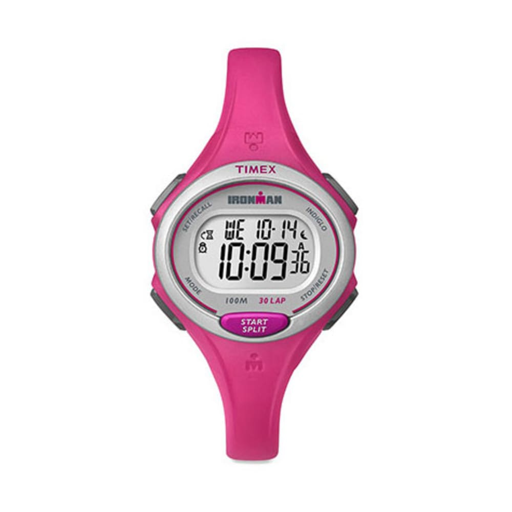 TIMEX Ironman Essential 30-Lap Mid Size Watch, Pink - PINK