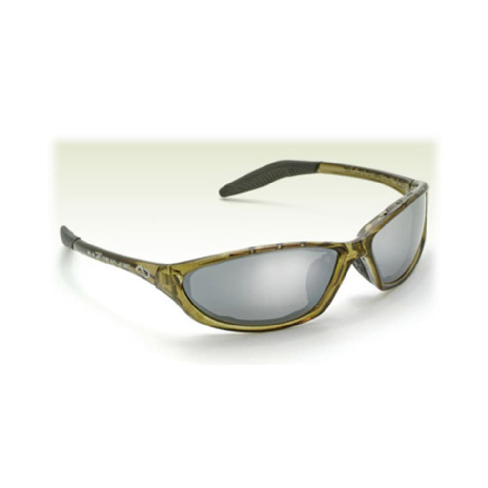 Native Eyewear Silencer Reflex Polarized Sunglasses - Green