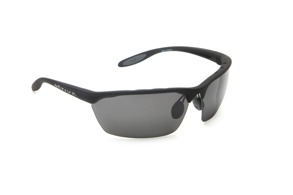 fa3e39f3cf NATIVE EYEWEAR Sprint Polarized Sunglasses - ASPHALT GREY