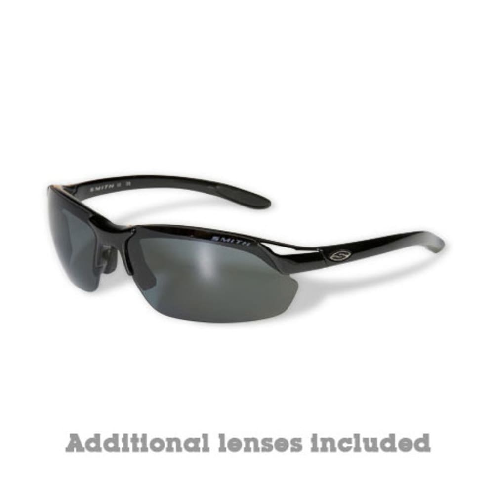SMITH Parallel Max Polarized Sunglasses - BLACK