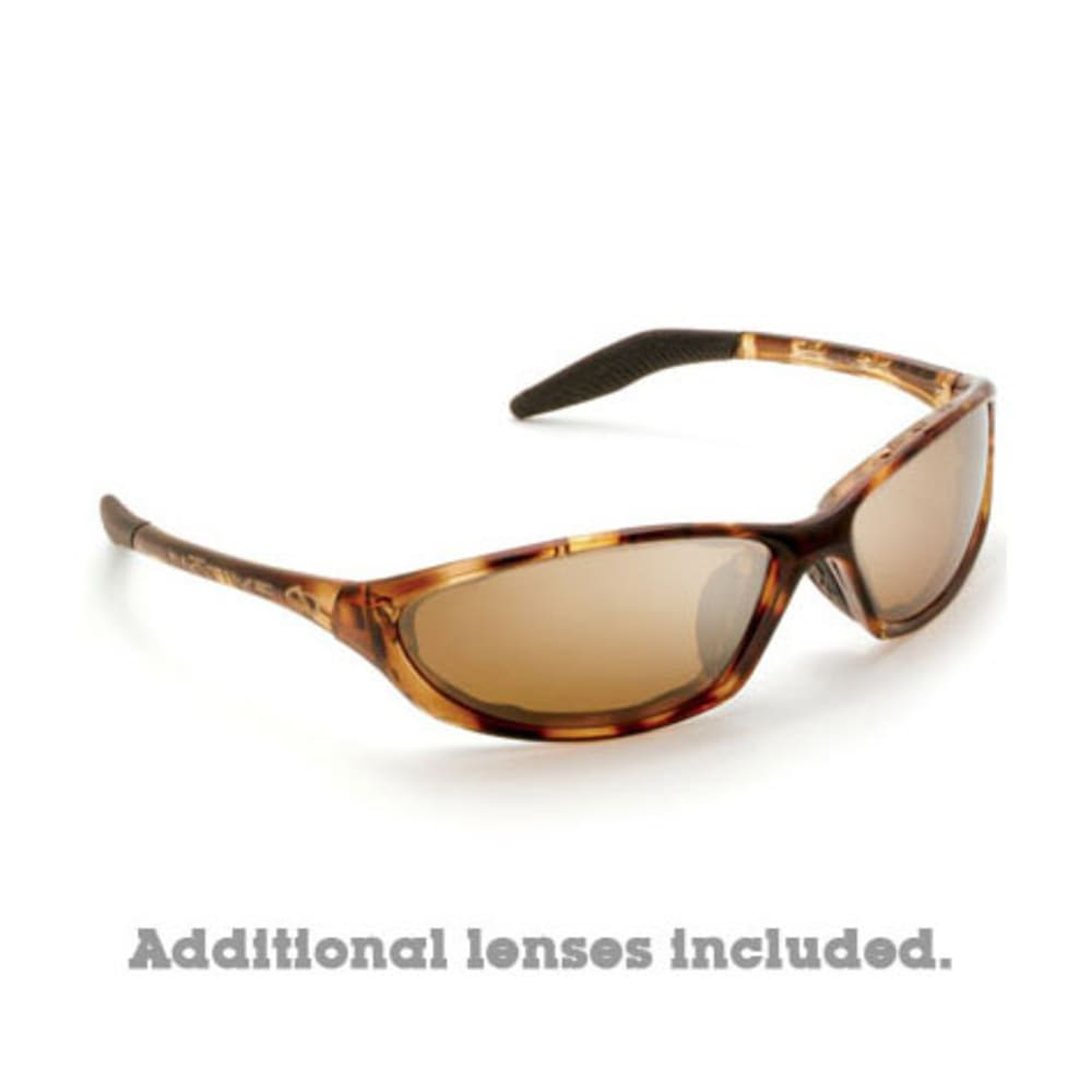 NATIVE EYEWEAR Silencer Polarized Sunglasses, Maple Tort/Brown - NONE