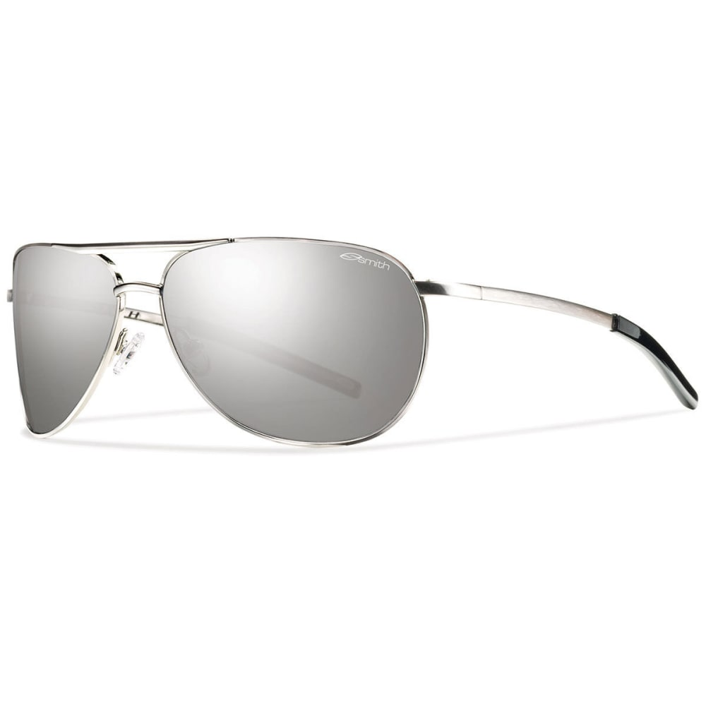 SMITH Serpico Slim Polarized Sunglasses, Silver - SILVER