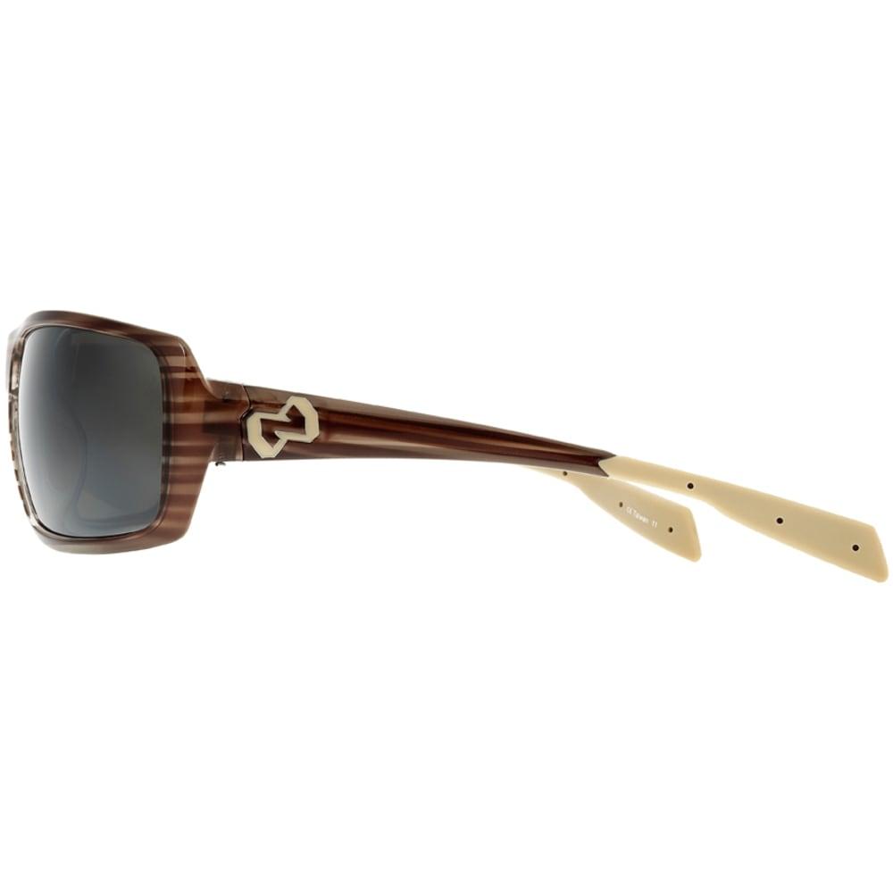 NATIVE EYEWEAR Trango Polarized Reflex Sunglasses, Wood - WOOD/SILVER