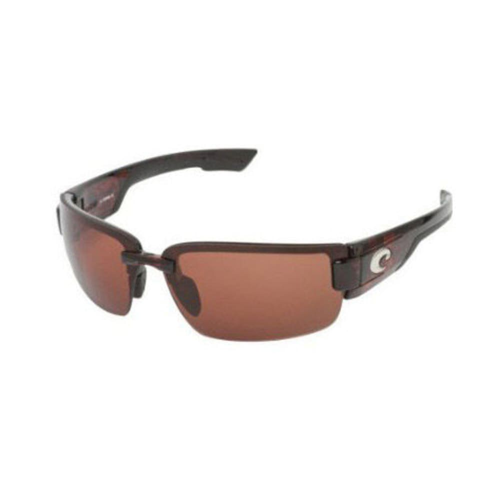 COSTA DEL MAR Rockport Sunglasses, Tortoise - TORTOISE