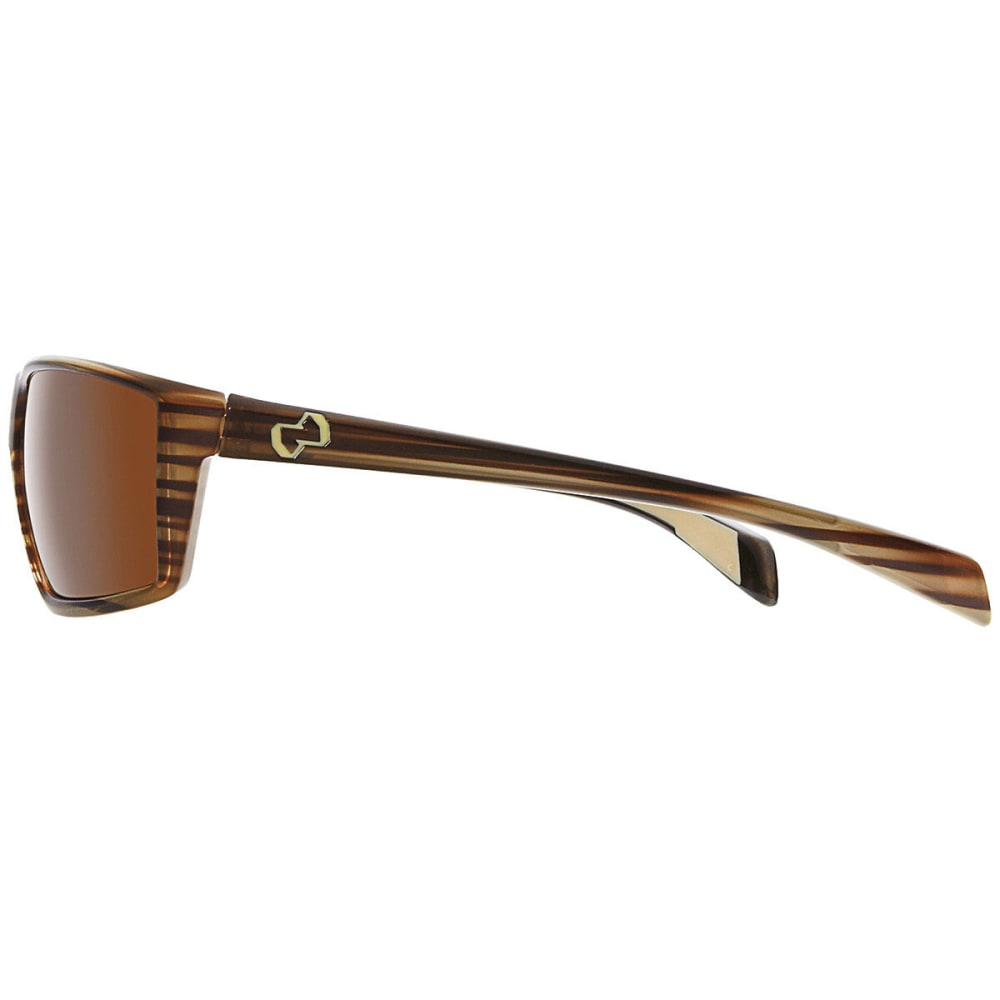 NATIVE EYEWEAR Sidecar Polarized Sunglasses, Wood - WOOD/BROWN
