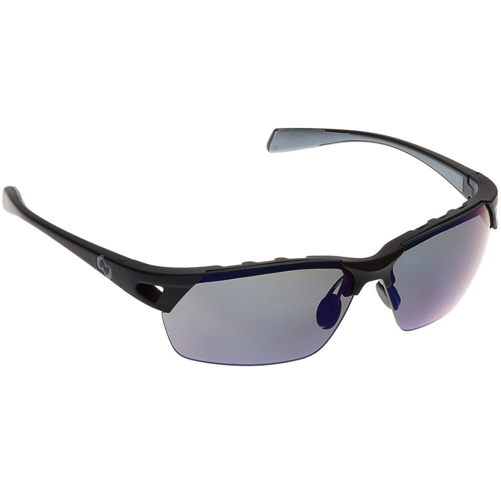 NATIVE EYEWEAR Eastrim Reflex Polarized Sunglasses, Asphalt - MATTE BLACK