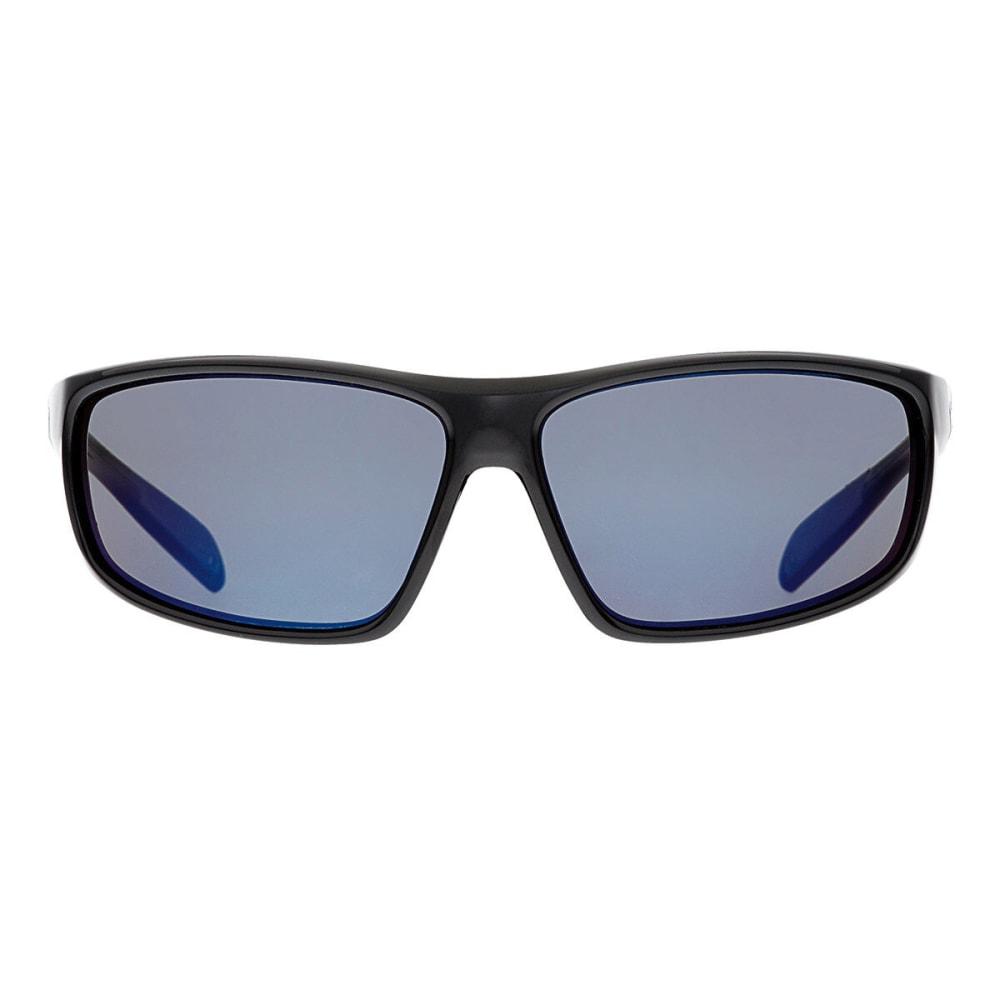 NATIVE EYEWEAR Bigfork Reflex Polarized Sunglasses, Iron - GLOSS BLACK