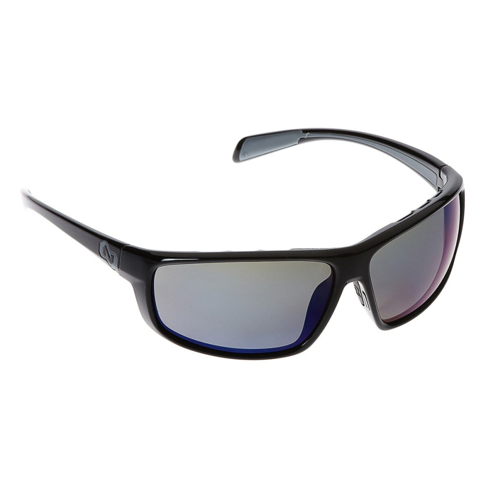 NATIVE EYEWEAR Bigfork Reflex Polarized Sunglasses, Iron NA