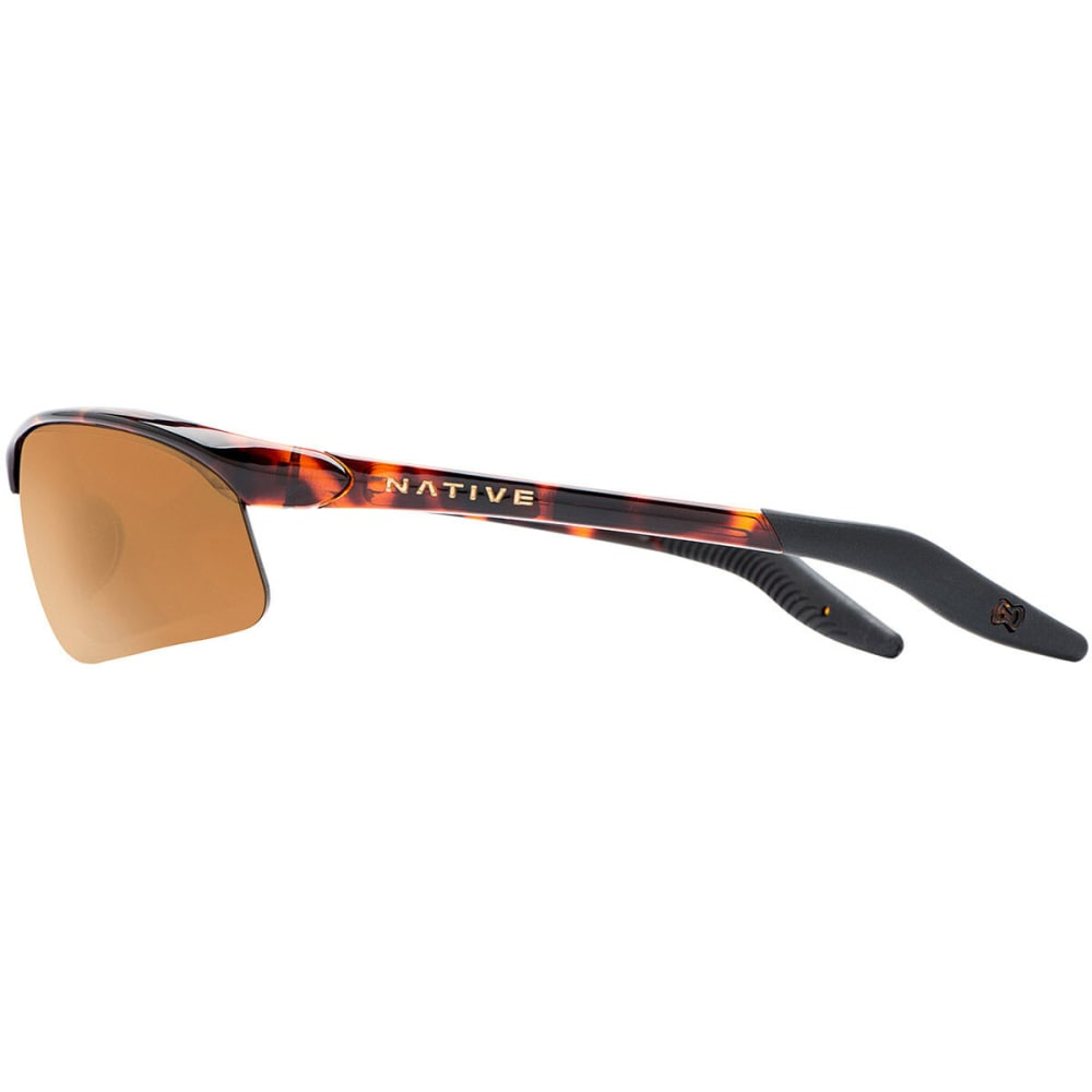 NATIVE EYEWEAR Hardtop XP Polarized Sunglasses, Maple Tort - NONE