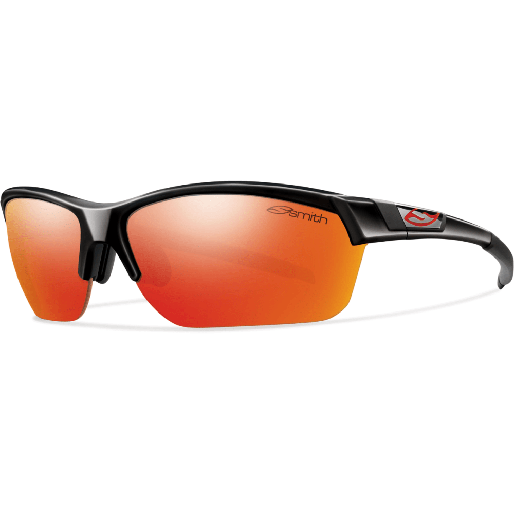 SMITH Approach Max Sunglasses - BLACK/RED MIRROR