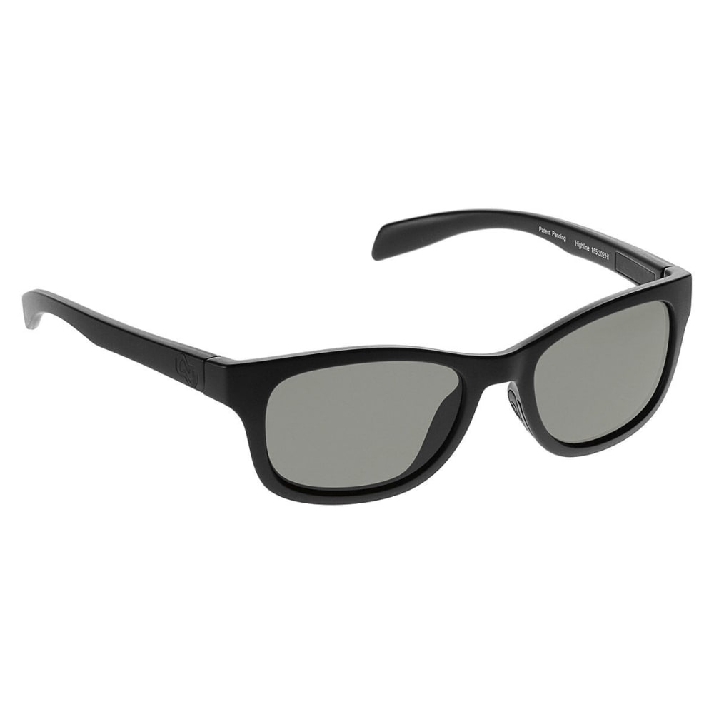 NATIVE EYEWEAR Highline Polarized Sunglasses, Asphalt - MATTE BLACK