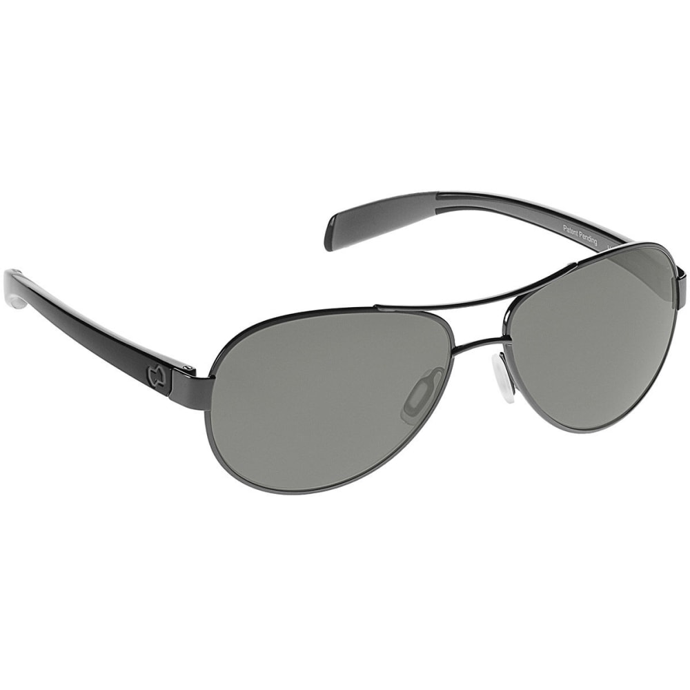 Native Eyewear Haskill Polarized Sunglasses, Gunmetal/iron 164 382