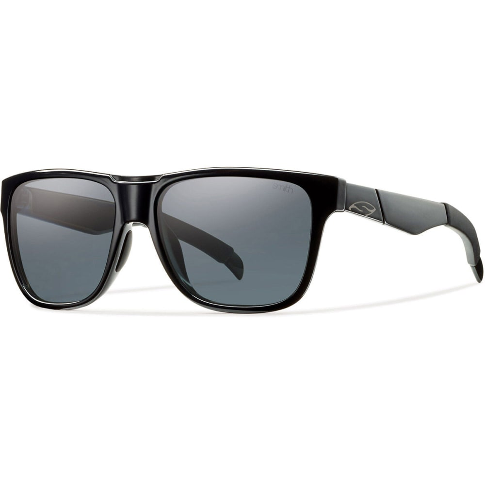 SMITH Lowdown Sunglasses, Black/Polarized Grey - BLACK