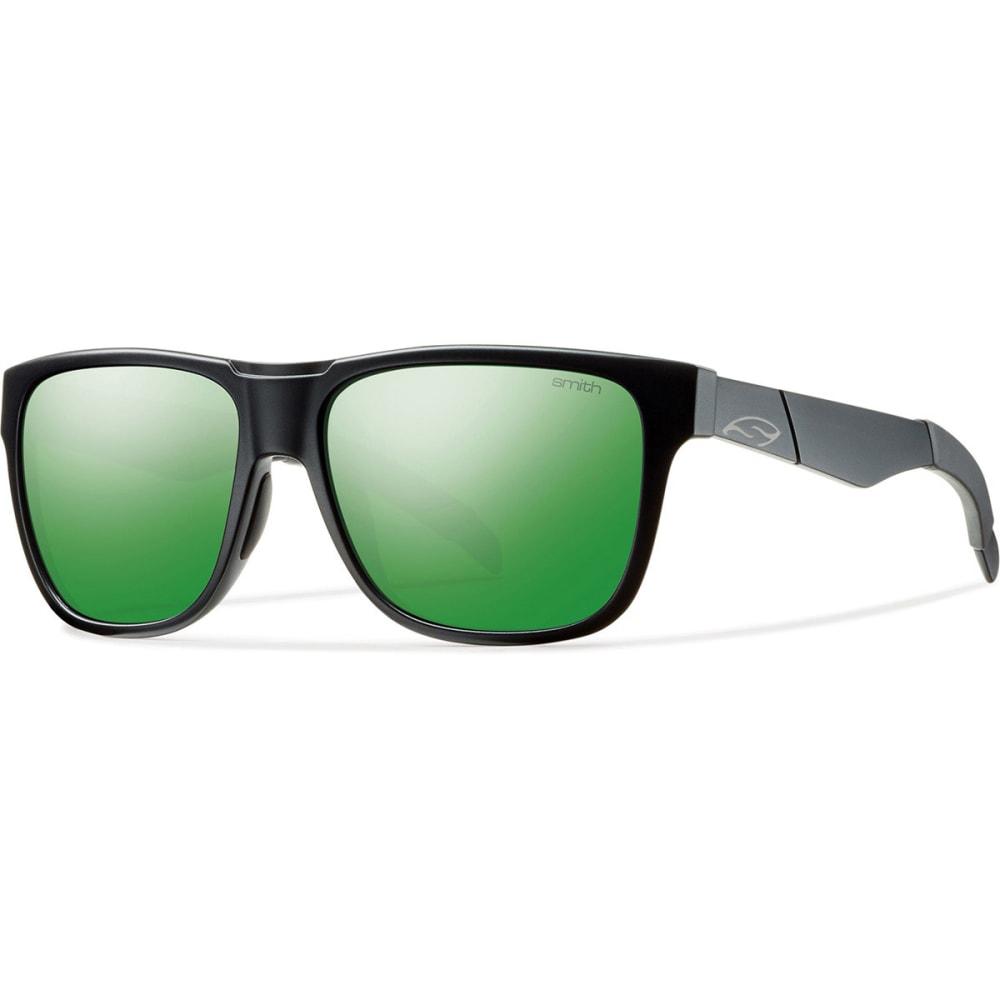 SMITH Lowdown Sunglasses, Matte Black/Green SOL-X - MATTE BLACK