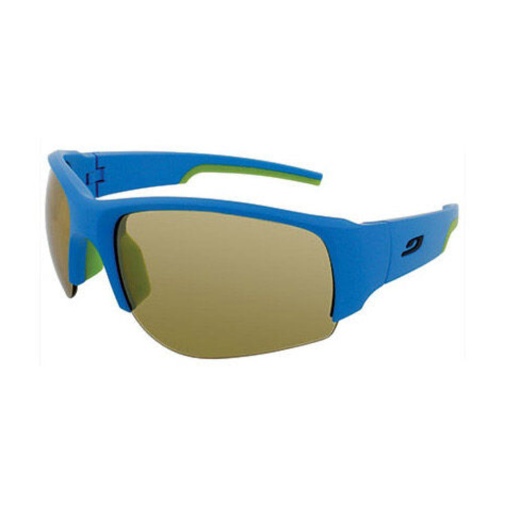 JULBO Dust Zebra Sunglasses, Matte Blue/Green - BLUE/GRN