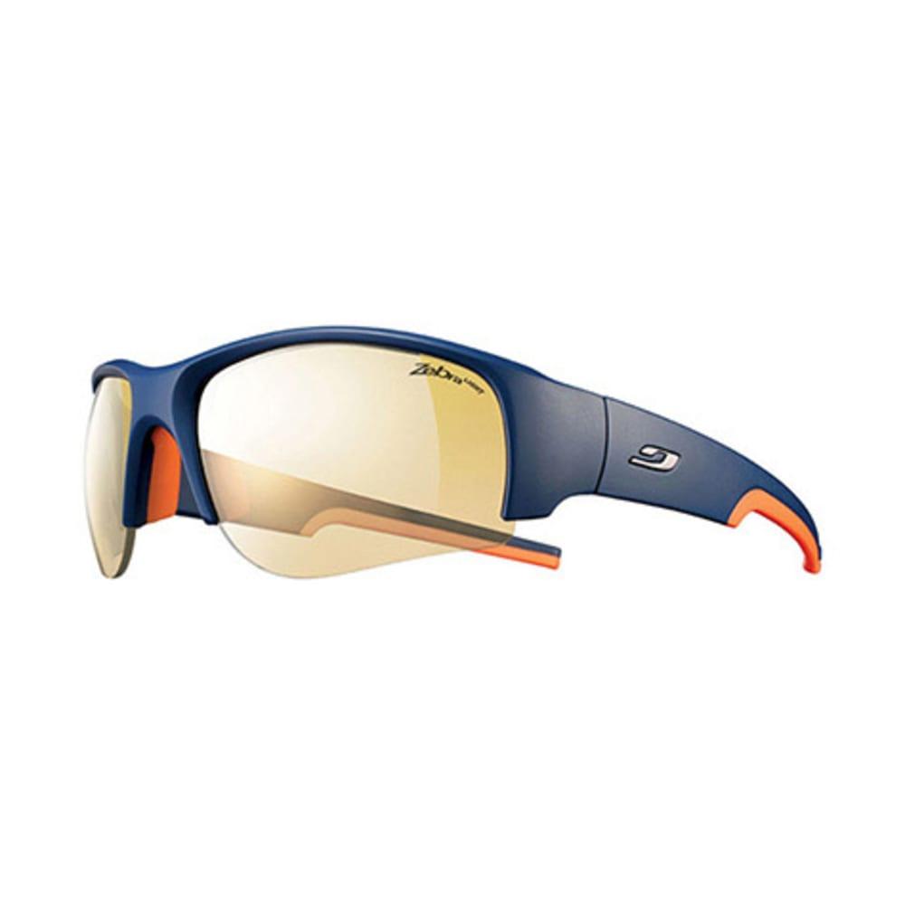JULBO Dust Zebra Sunglasses, Blue/Orange - BLUE/ORANGE