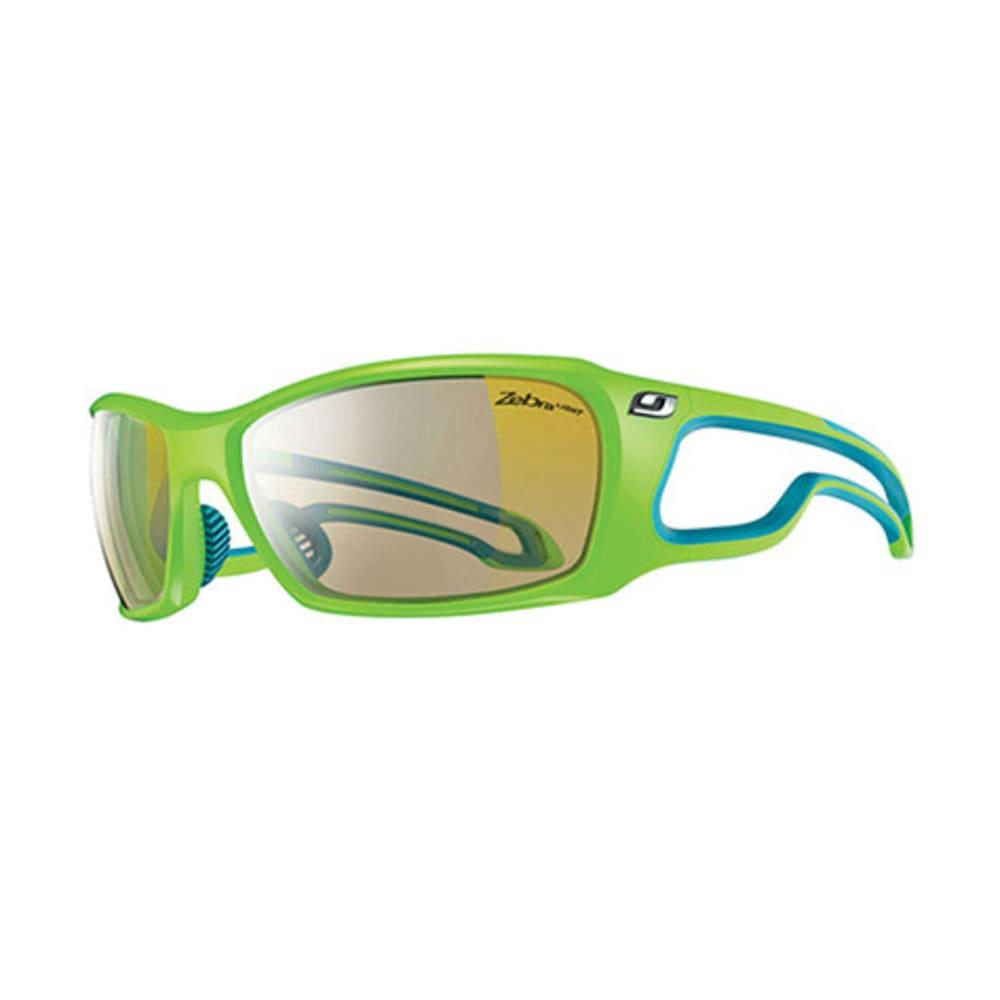 JULBO Pipeline Zebra Sunglasses, Lime Green - LIME
