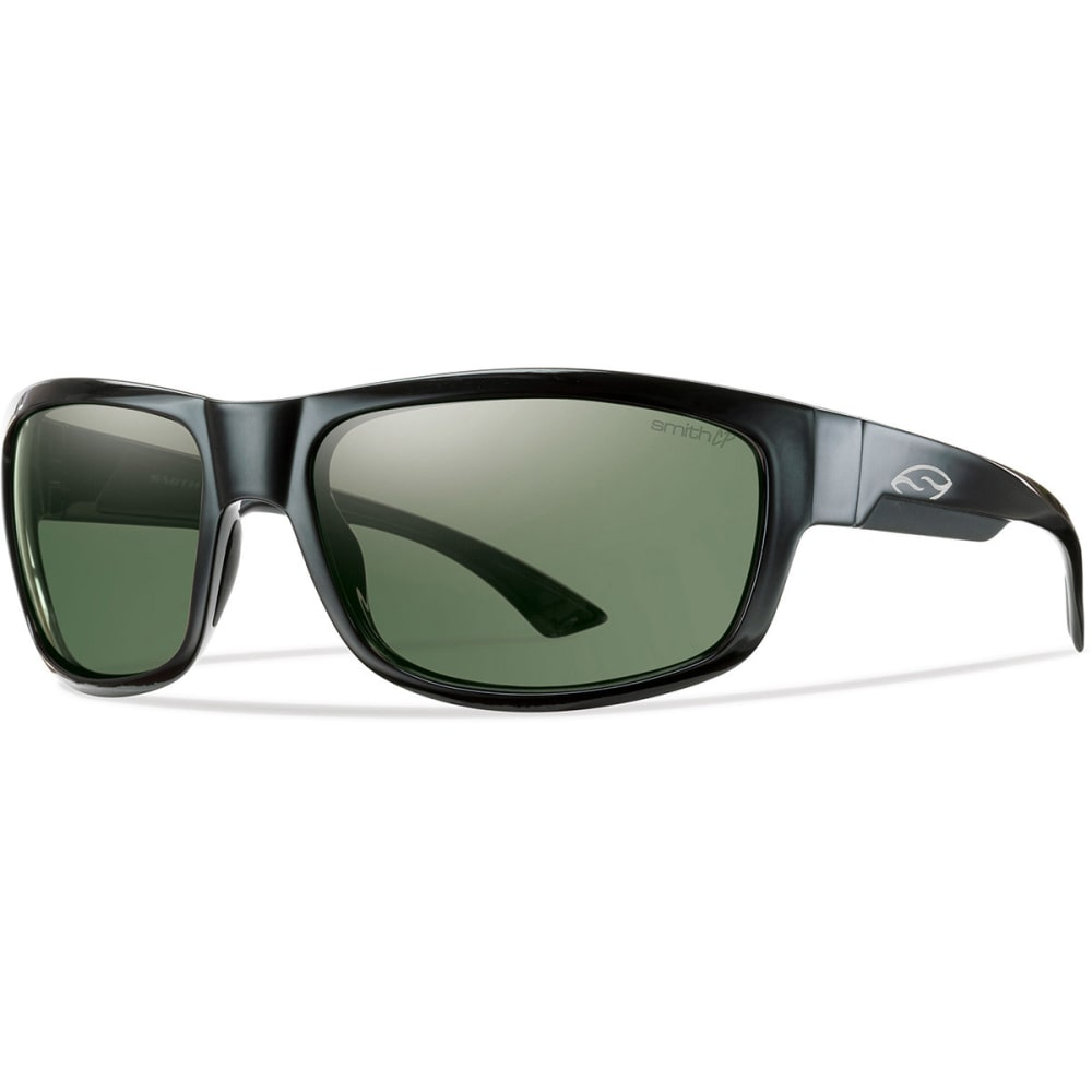 SMITH Dover Sunglasses, Black/Polarized Grey - BLACK