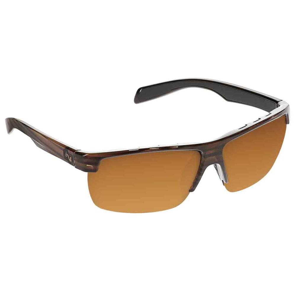 Native Eyewear Linville Sunglasses, Wood/brown - Brown 170-361