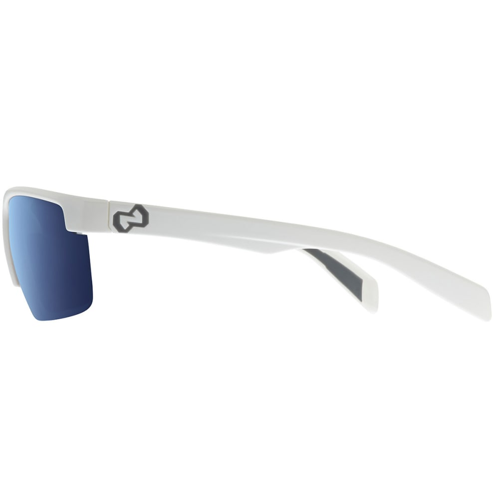NATIVE EYEWEAR Linville Sunglasses, Snow/Blue Reflex - SNOW