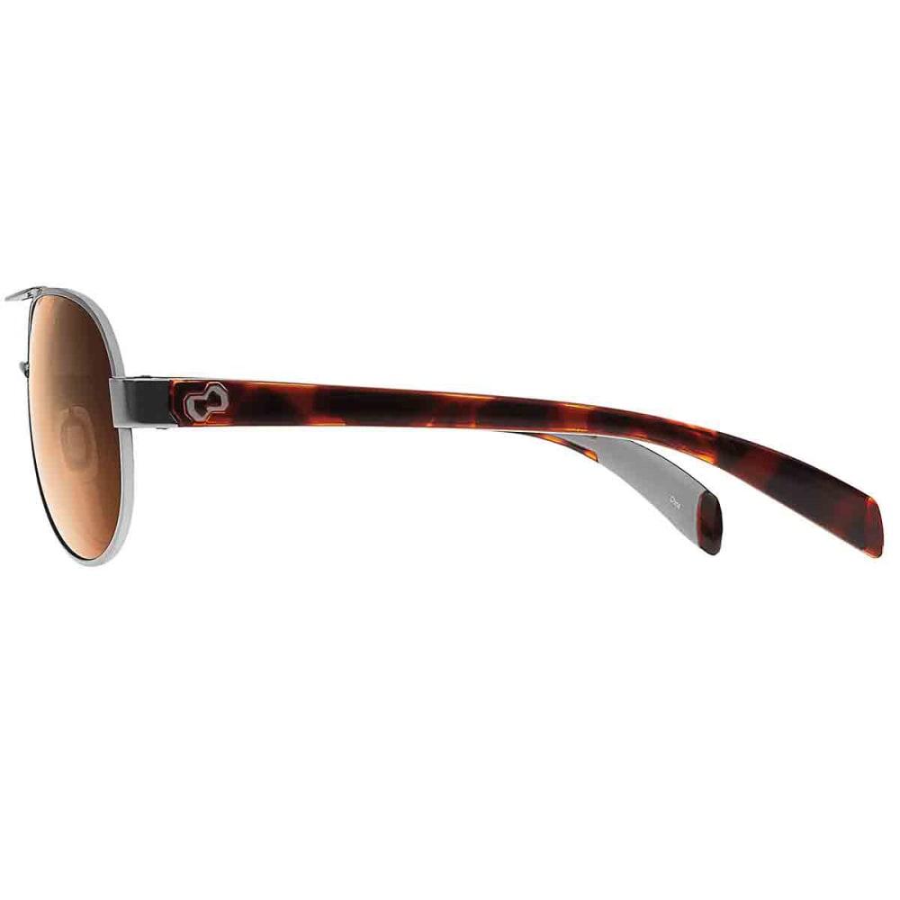 NATIVE EYEWEAR Haskill Sunglasses, Chrome Maple Tort/Brown - CHROMEMAPLE TORT