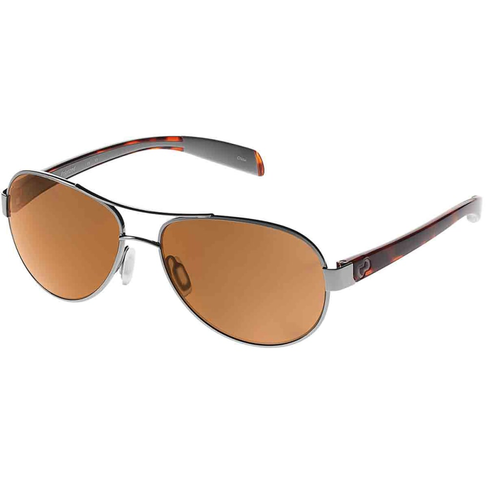 Native Eyewear Haskill Sunglasses, Chrome Maple Tort / brown - Black