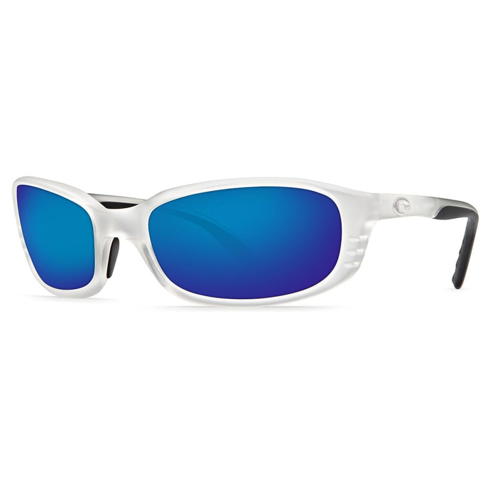 8f2ac1016f7c COSTA DEL MAR Brine Sunglasses, Matte Crystal/ Blue Mirror - CRYSTAL