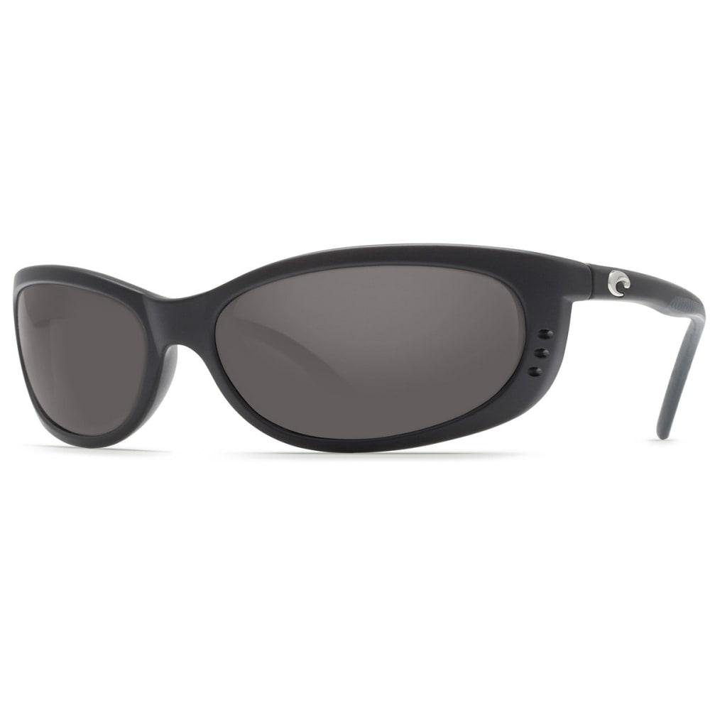 COSTA DEL MAR Fathom Sunglasses, Matte Black/Gray 580P - MATTE BLACK