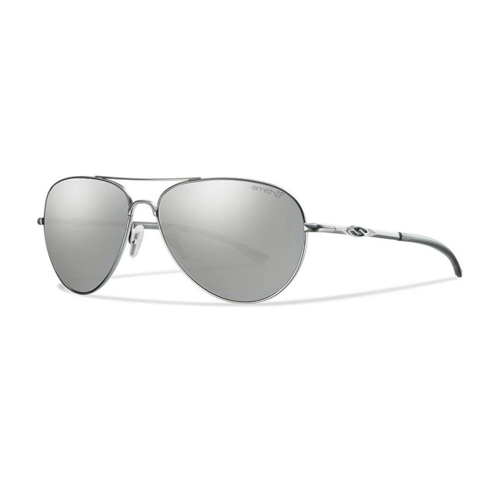 SMITH Audible Sunglasses, Matte Silver/Polar Gray - MATTE SILVER/POLAR P